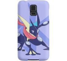 Greninja with Water Kanji Samsung Galaxy Case/Skin
