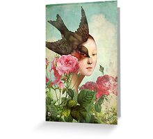 The Silent Garden Greeting Card