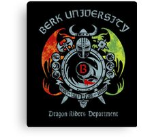 Berk University Canvas Print