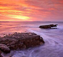 Kei Mouth sunrise. by Izak van der Merwe