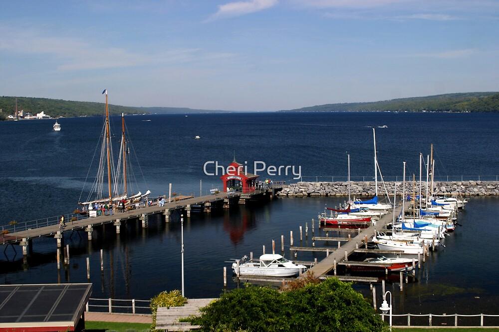 Seneca Lake Harbor by Cheri Perry