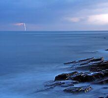 Storm approaching the East Coast of South Africa. by Izak van der Merwe