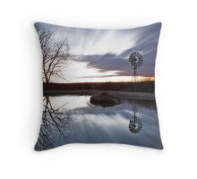 Moving clouds. Throw Pillow