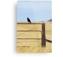 Australian Country Life Metal Print