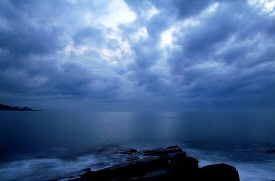 Calm before the storm..... by Izak van der Merwe