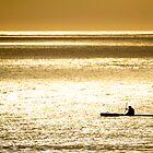 Lone Rower by Izak van der Merwe