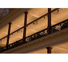 Balcony detail - State Library of Victoria Photographic Print