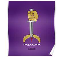 Literary Classics Illustration Series: Julius Caesar Poster