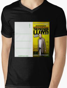 King Kaufman: The Passion of Lloyd (2008) - Movie Poster Postcard Mens V-Neck T-Shirt