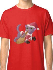 Santa Kitten Classic T-Shirt