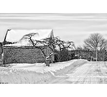 Winter Is Our Guest Photographic Print