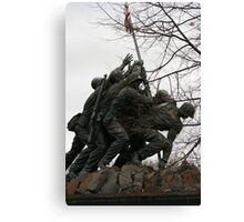 Iwo Jima another view Canvas Print