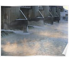 Red River at Lockport  Poster