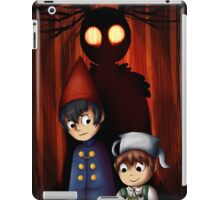 Three Is The Wind In The Leaves iPad Case/Skin