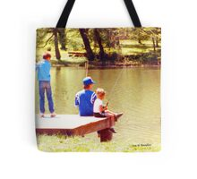 Sumertime is for fishing Tote Bag