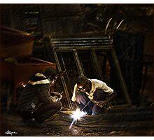 Uganda: Overtime Photographic Print