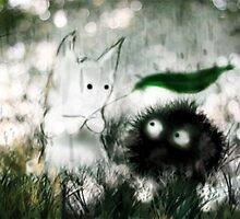 Ghibli Friends by Faye' D-Arts