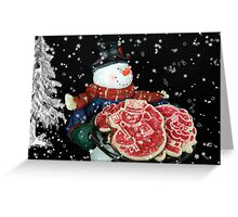 Christmas Eve Delivery Greeting Card