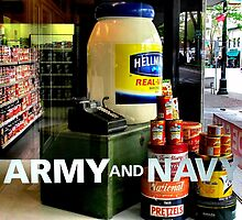 Giant Mayonnaise Jar by Ethna Gillespie
