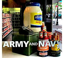 Giant Mayonnaise Jar Photographic Print