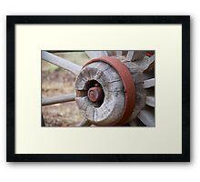 Wagon Wheel 1 Framed Print