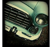 OLD CAR FRONT Photographic Print