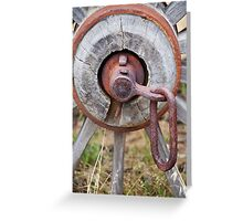 Wagon Wheel 2 Greeting Card