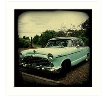 OLD CAR HUDSON Art Print