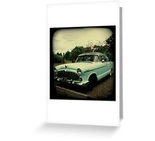 OLD CAR HUDSON Greeting Card
