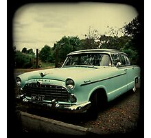 OLD CAR HUDSON Photographic Print
