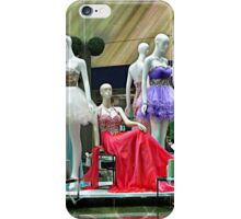 Party Dresses, Center Stage in the Atrium Wishing Pool iPhone Case/Skin