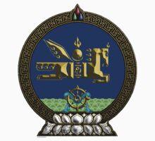 Ulaan Baatar (Mongolian Capitol insignia) Kids Tee
