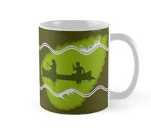 Green River Canoes Logo in Brown Mug