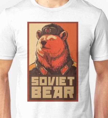 Soviet Bear Unisex T-Shirt