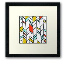 eloi:  frank lloyd wright/sga gridwork Framed Print