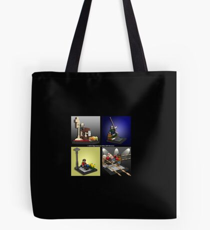 When Lego Goes Wrong (Number 005) Tote Bag