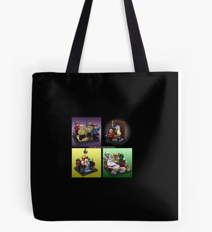 When Lego Goes Wrong (Number 007) Tote Bag