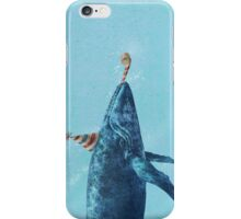 Party Whale  iPhone Case/Skin