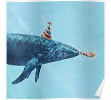 Party Whale  Poster