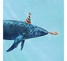 Party Whale  Photographic Print