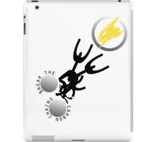 Break the Carbon Chains iPad Case/Skin