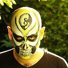garden skull by ezebee