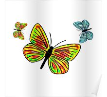 Butterfly Bagging Poster