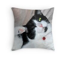 Hindpaw Salute Throw Pillow