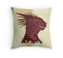 Elder Scrolls: Who are the Argonians? Throw Pillow