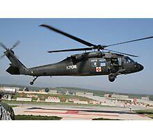 MEDEVAC helicopter Photographic Print