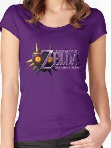 The Legend of Zelda: Majora's Mask Women's Fitted Scoop T-Shirt