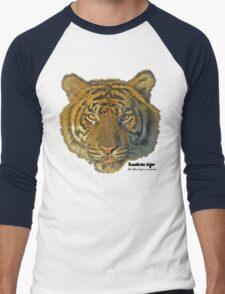 Sumatran tiger Men's Baseball ¾ T-Shirt