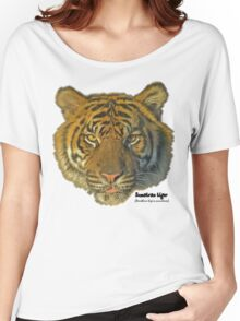 Sumatran tiger Women's Relaxed Fit T-Shirt