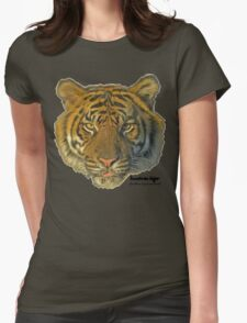 Sumatran tiger Womens Fitted T-Shirt